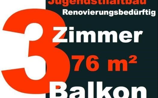 3-Zimmer mit Balkon Berlin