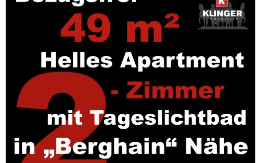 2-Zimmerwohnung Berlin Friedrichshain